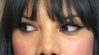 Alexa Chung Rock Chick Eyes