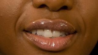 Leona Lewis Glossy Lips